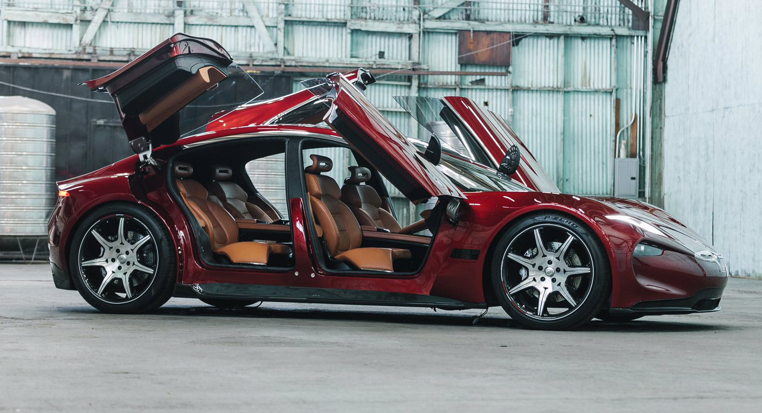 Fisker Emotion revealed at CES with 400-mile range