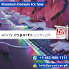 esports.com.pk Premium Domain For Sale