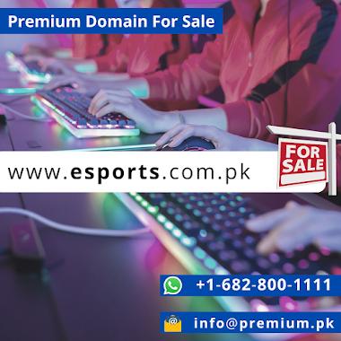 esports.com.pk Premium Domain For Sale