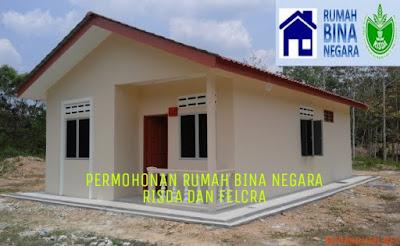 Permohonan Rumah Bina Negara (RBN) RISDA dan FELCRA 2018 Online
