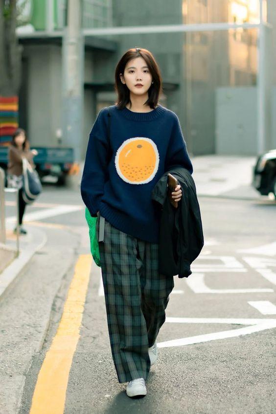 Look coreano street style