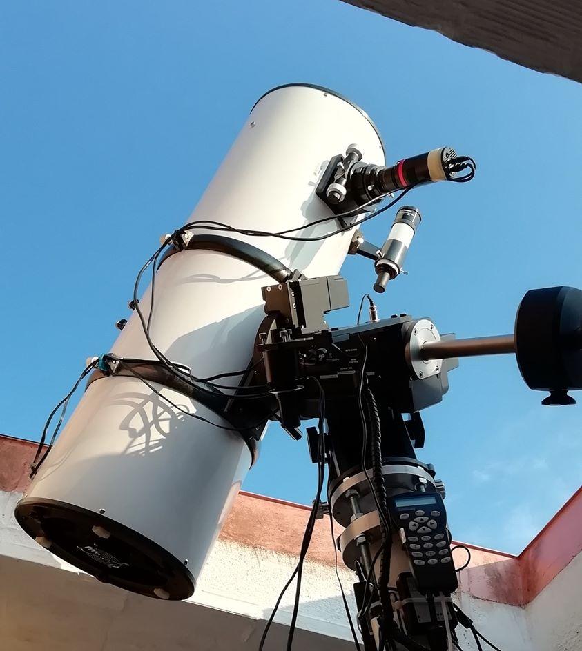 """GSO espejo principal para Newton telescopio 200mm gshs 200f4 Pohlman 8/""""//f//4"""