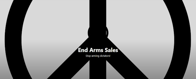 End Arms Sales - Stop arming dictators!