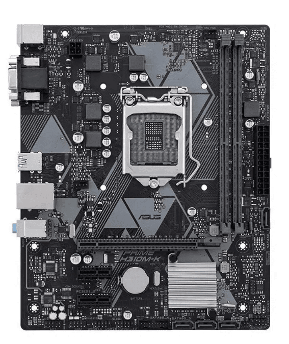 ASUS PRIME H310M-K Full Spesification