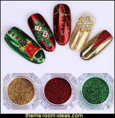 nail art - Christmas nails - Christmas nail stickers - Winter holidays nail design ideas - Christmas nail art - Christmas snowflakes snowmen nail art stickers - Christmas themed stickersnail art decals - cute nails - nail art design ideas
