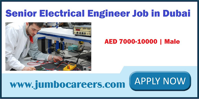 Electrical Engineer Job in Dubai