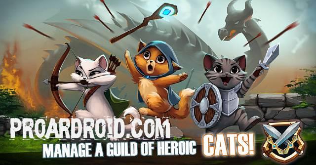تحميل لعبة القطط الممتعة Castle Cats النسخة المهكرة للاجهزة الاندرويد