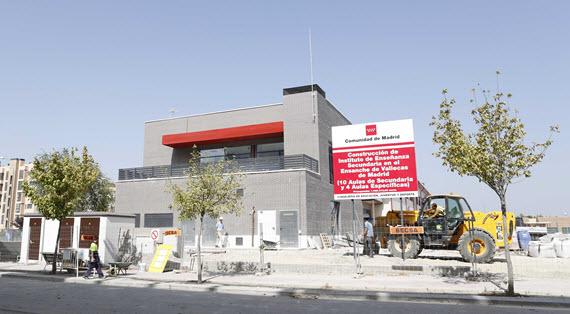Nuevo instituto en el Ensanche de Vallecas para el curso 2016-2017