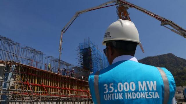 Halo... Apa Kabar Proyek Setrum 35 Ribu MW..?