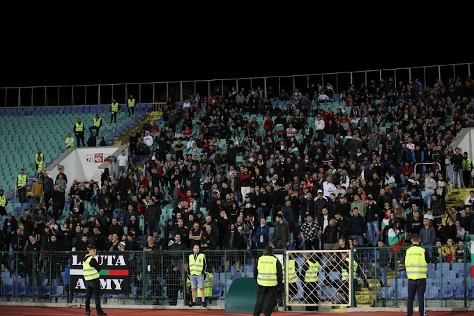 Bulgarian Soccer Chief Resigns After Fans' Racist Abuse of England