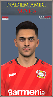 PES 2017 Faces Nadiem Amiri by Mo Ha