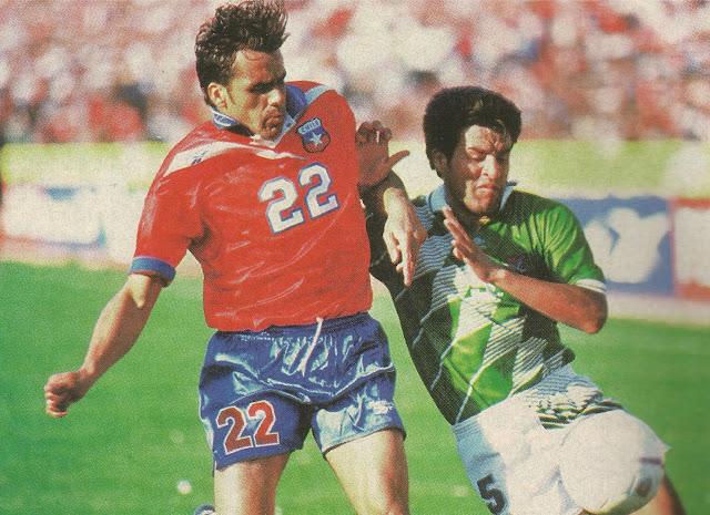 Chile y Bolivia en Clasificatorias a Francia 1998, 16 de noviembre de 1997