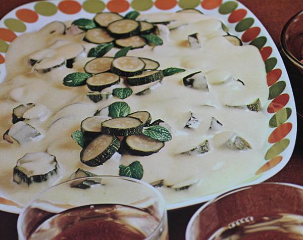 Zucchine alla Maionese