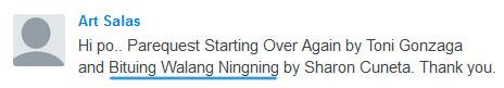 Request Bituing Walang Ningning