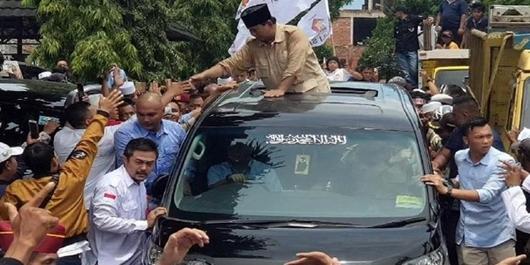 Ketua GARIS Pinjamkan Mobil ke Prabowo, TKN Singgung Karakter Pendukung