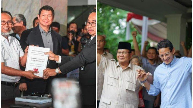 Gugatan Prabowo ke MK: Polisi Tak Netral hingga Penyalahgunaan APBN