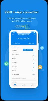 تنزيل برنامج wifi master key للايفون