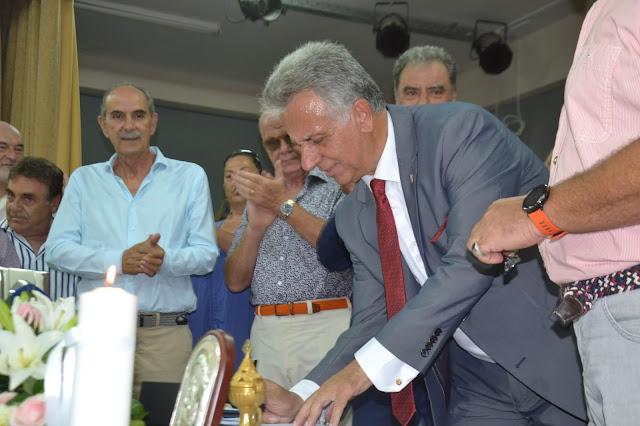 Ορκίσθηκε ο νέος Δήμαρχος Ερμιονίδας Γιάννης Γεωργόπουλος