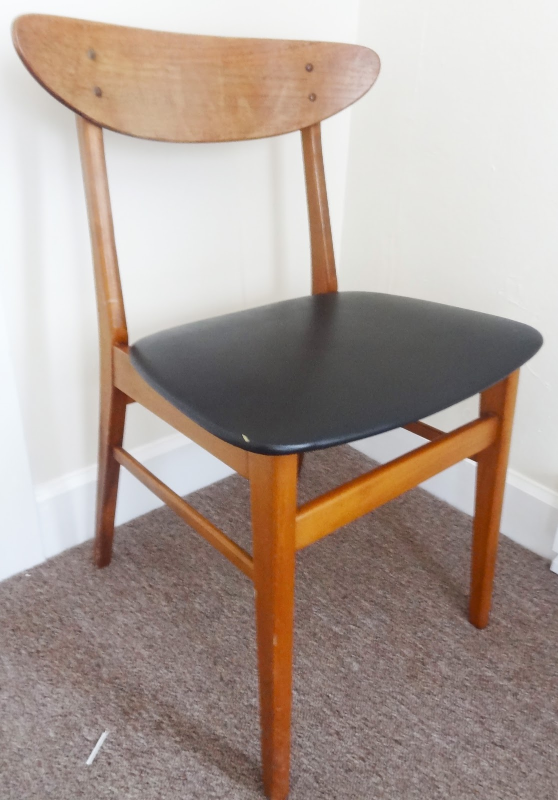 reupholstering a chair baseball rocking houzz quick fix reupholster seat revamp homegoods