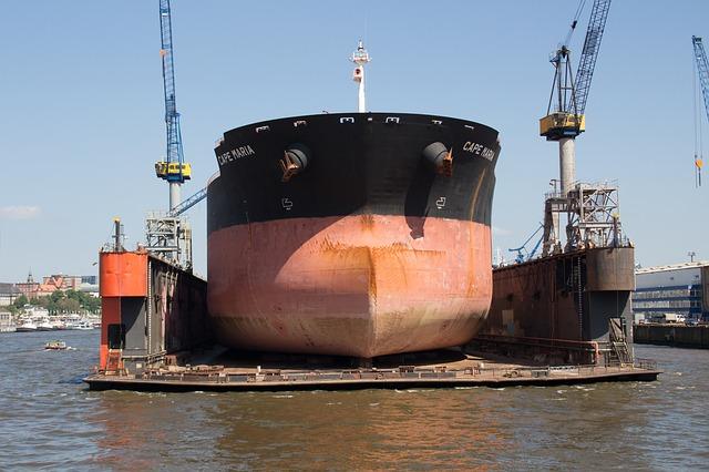 أنواع أحواض بناء السفن