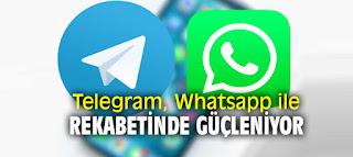 WhatsApp ve Telegram Rekabetinde Son Durum