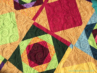 Stash Buster Quilt from Jennie, featuring Lalla Palooza