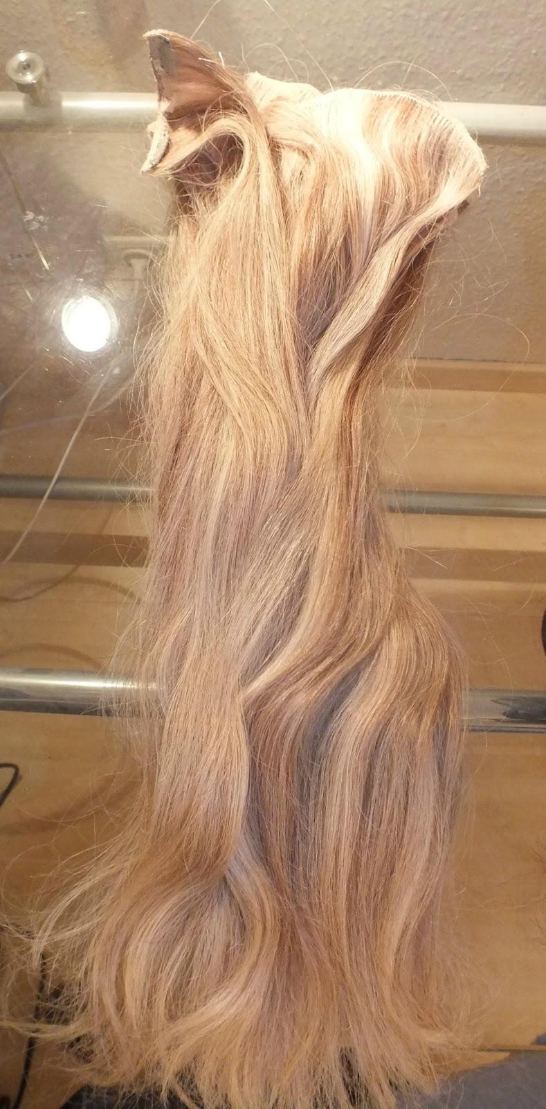 Clip in extensions echthaar doppelte haarmenge