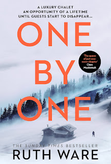 One by One by Ruth Ware book cover