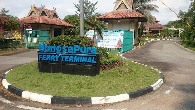 Nongsa Pura Ferry Terminal, Batam - Image: Author
