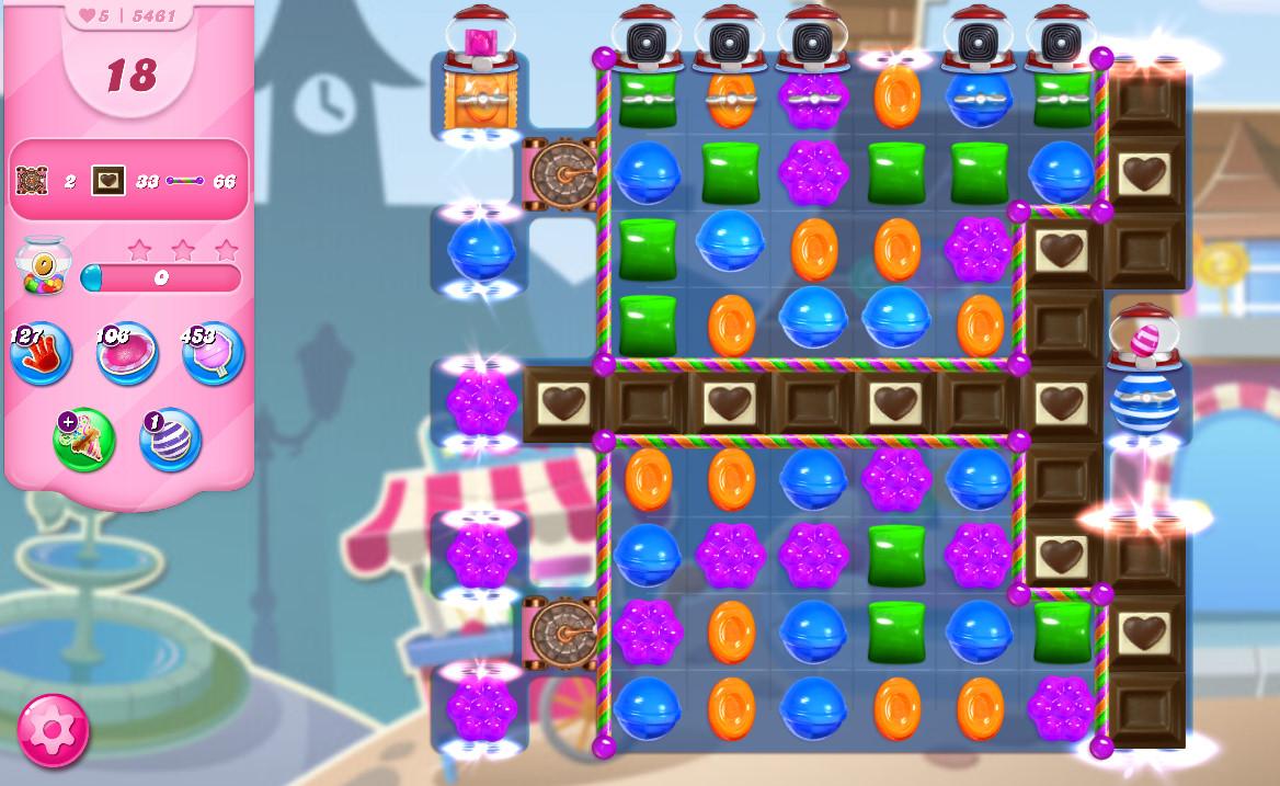 Candy Crush Saga level 5461