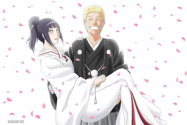 naruto and hinata wedding