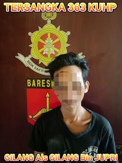 Karena Mencuri, Seorang Pemuda Diringkus Unit Reskrim Polsek Pontianak Timur