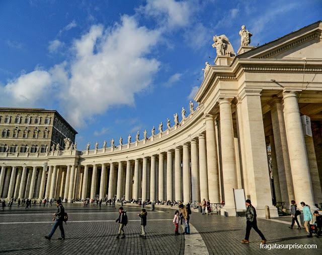 Vaticano - Praça de São Pedro