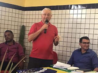 Frei Anastácio confirma lançamento de três pré-candidatos a prefeito pelo PT, na região