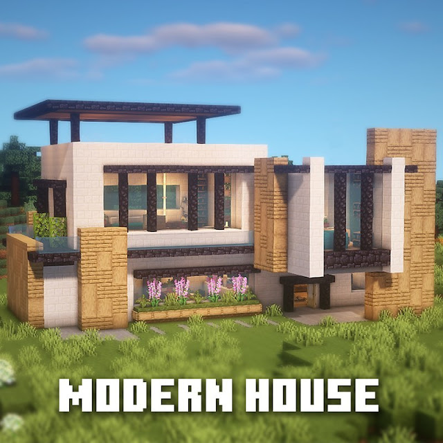Minecraft Modern House   Minecraft Modern House Ideas