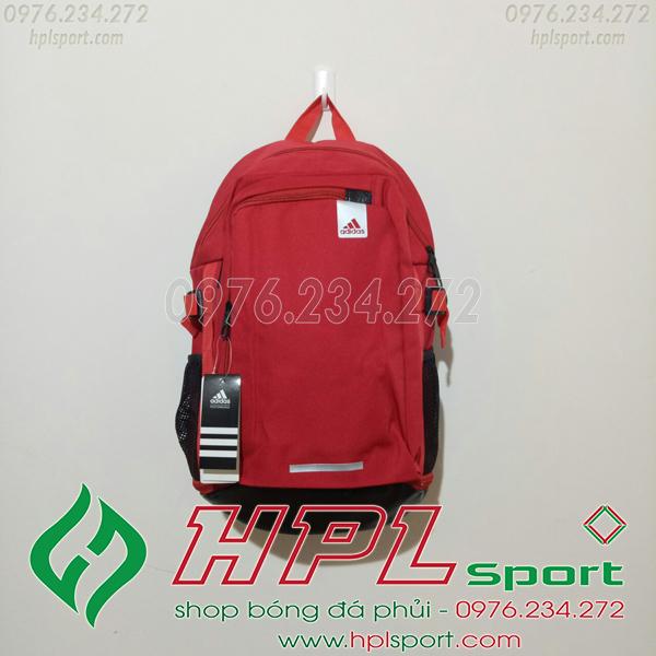 Balo bóng đá đẹp Adidas - 01 màu đỏ