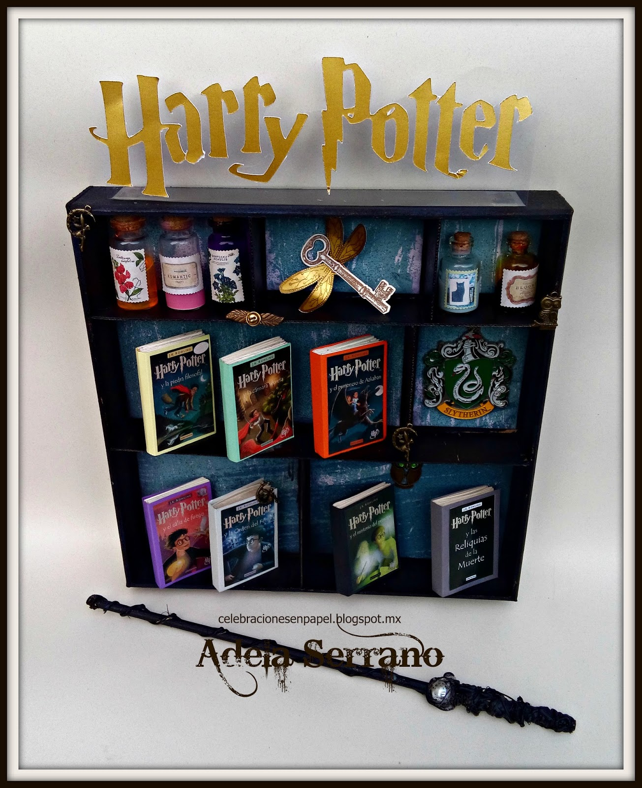 Paginas De Los Libros De Harry Potter Alterando Celebraciones En Papel Blog Hop Harry Potter