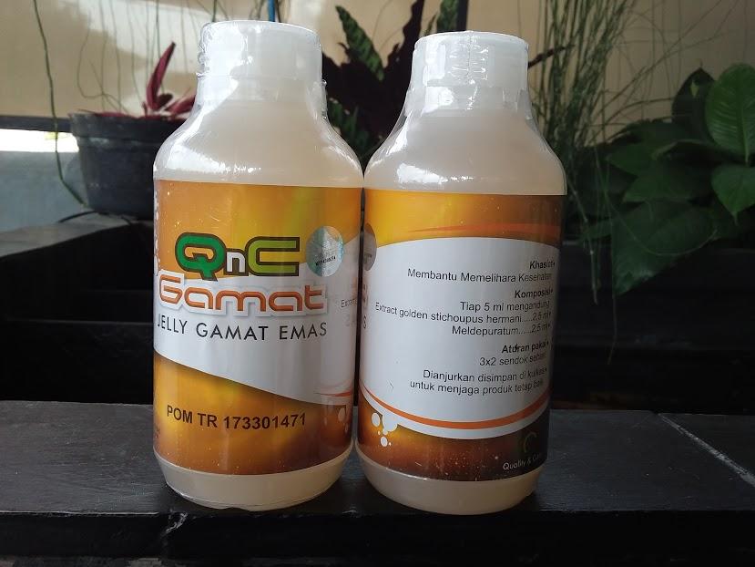 QnC Jelly Gamat untuk Asam Urat