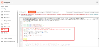 CARA Mendaftar Dan Mengubungkan Analytics Google Di Blog