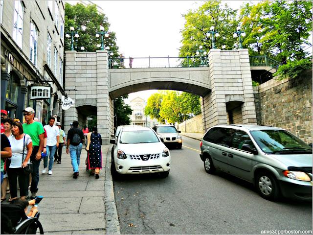 Puerta Prescott en la Ciudad de Quebec
