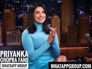 Priyanka Chopra Fans WhatsApp Group Links