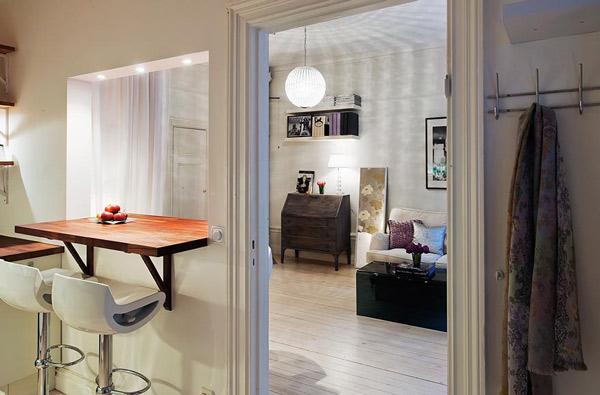 Hogares frescos ideas de dise os para apartamentos peque os for Departamentos pequenos minimalistas