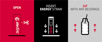Hướng dẫn cách sử dụng ông hút để cung cấp năng lượng electric enegy straw