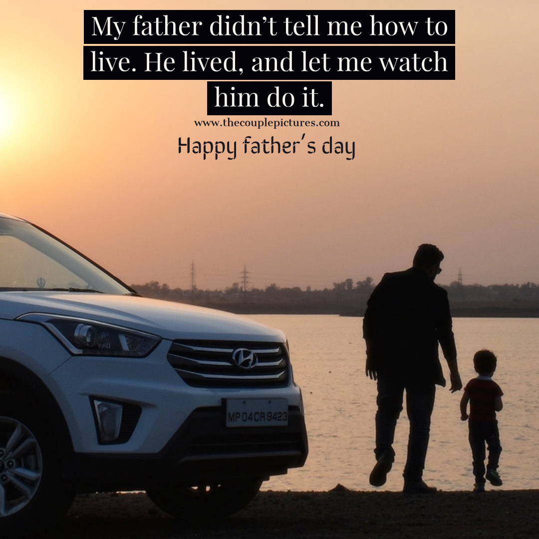 Father'day quotes   Father's day Whatsapp status images and