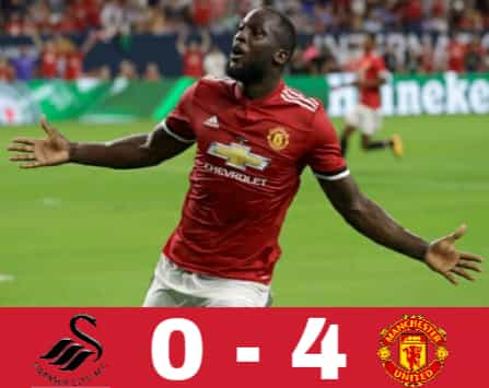 hasil pertandingan man united