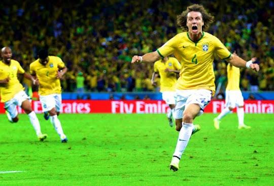 [VIDEO] Brasil - Kolombia (Piala Dunia 2014 Perempat Final)