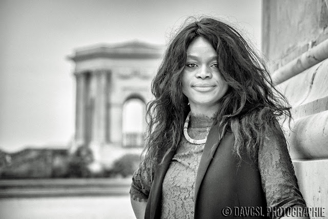 Patty hair, Patty Hair Extensions, Extensions capillaires, rallonges ceheveux, photographie, shooting photo, Montpellier, les Jardins du Pérou, modèle photo, photo, modelling, noir et blanc, photo en noir et blanc, DAVCSL Photographie