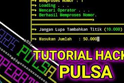 Tutorial Hack Pulsa All Operator Via Termux 2020
