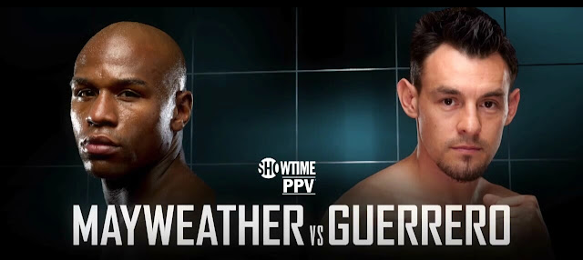 Floyd Mayweather Returns to Action Against Robert Guerrero