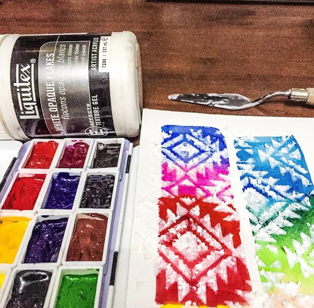 The failed paint swatch card